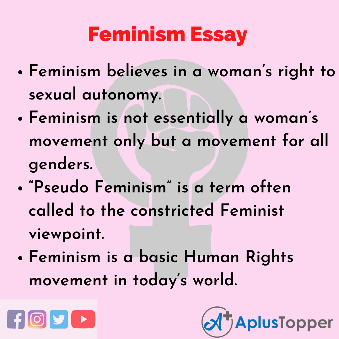 Essay about Feminism