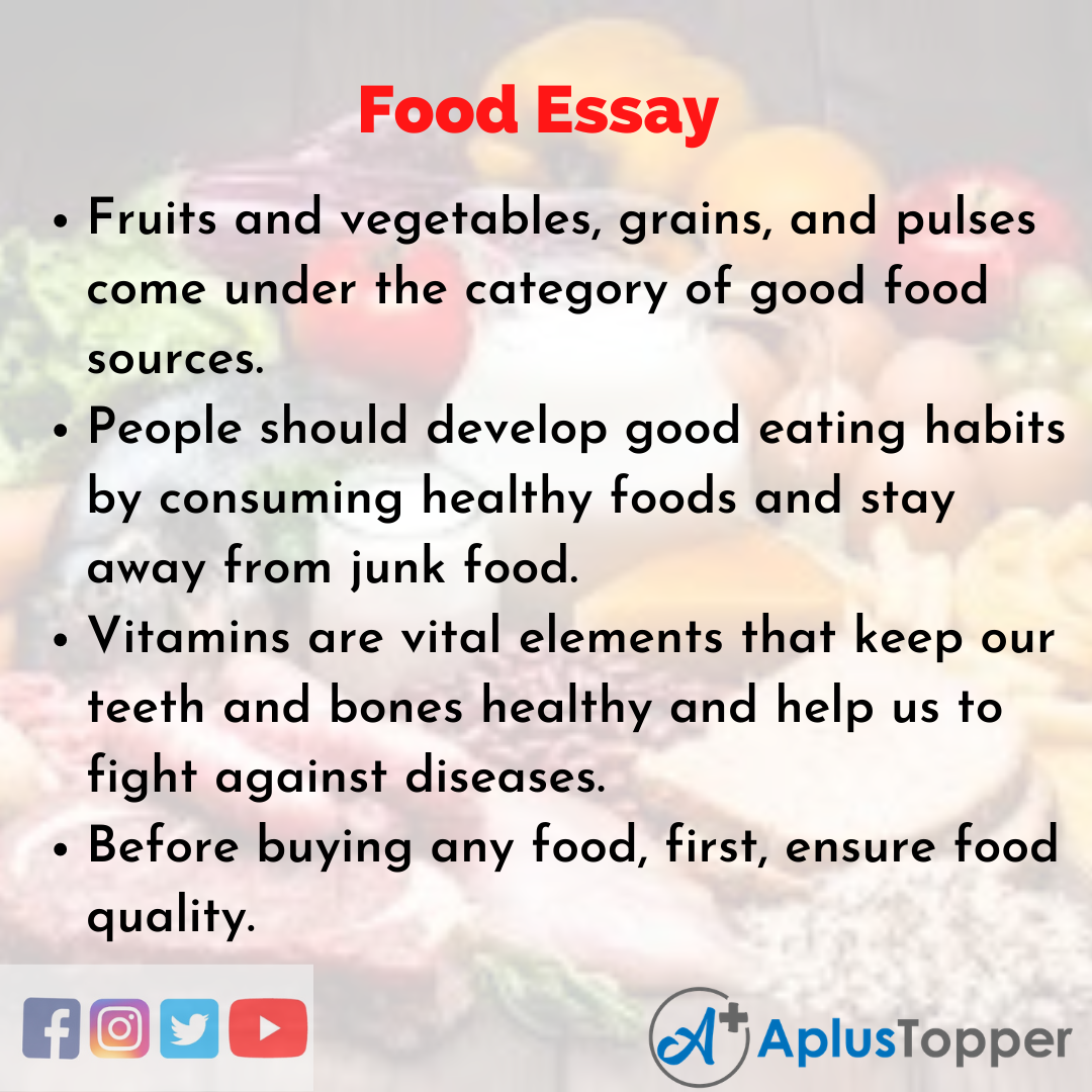Essay about Food