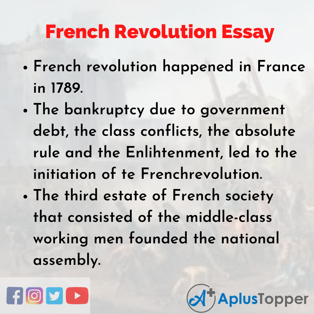 Essay about French Revolution