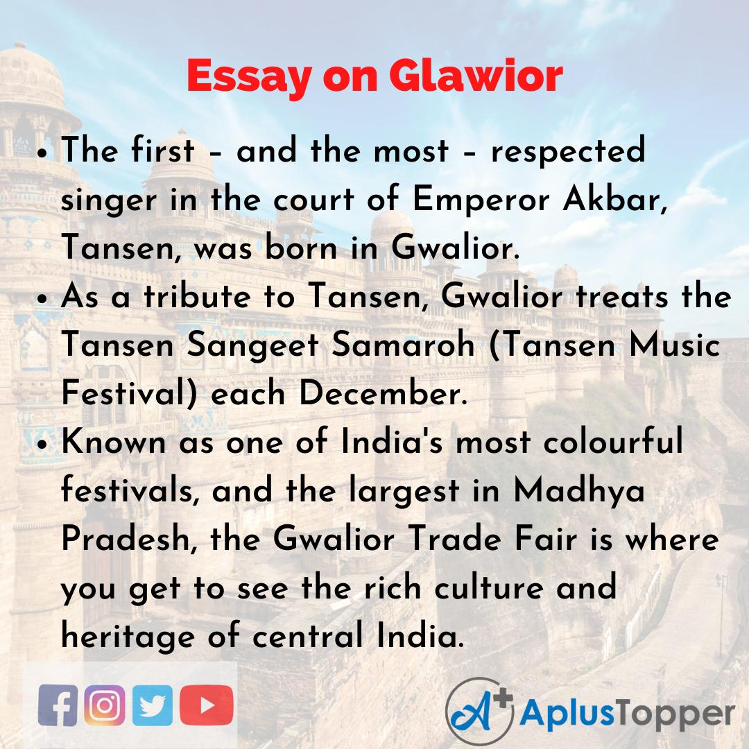 Essay about Gwalior