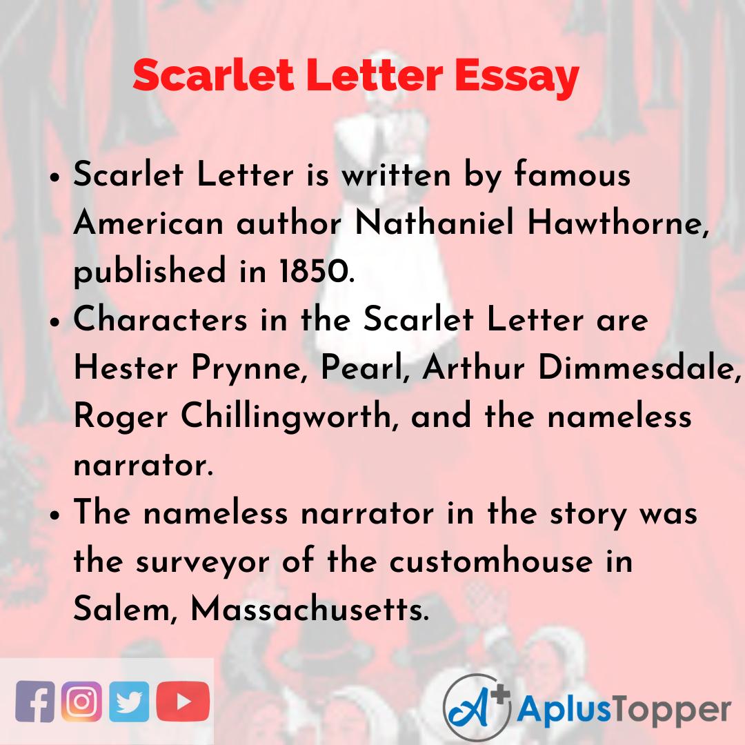 Essay about Scarlet Letter