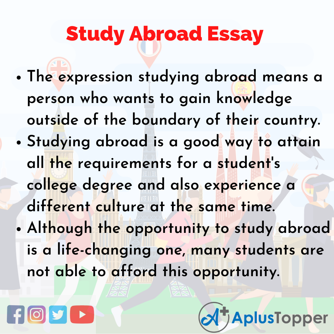 Essay about Study Abroad