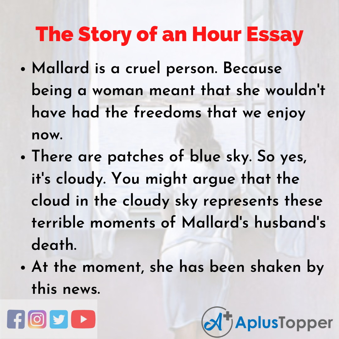Essay about The Story of an Hour