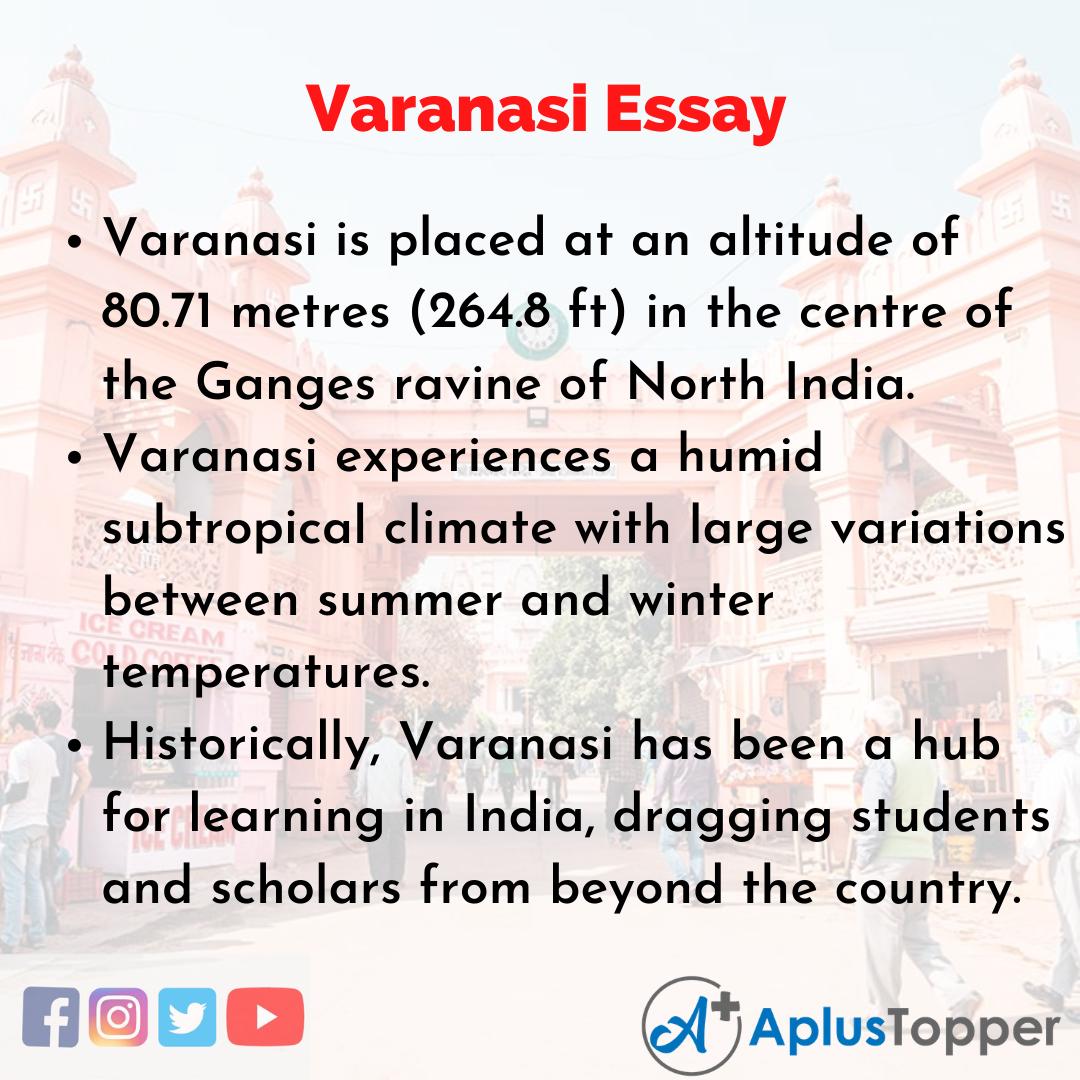 Essay about Varanasi