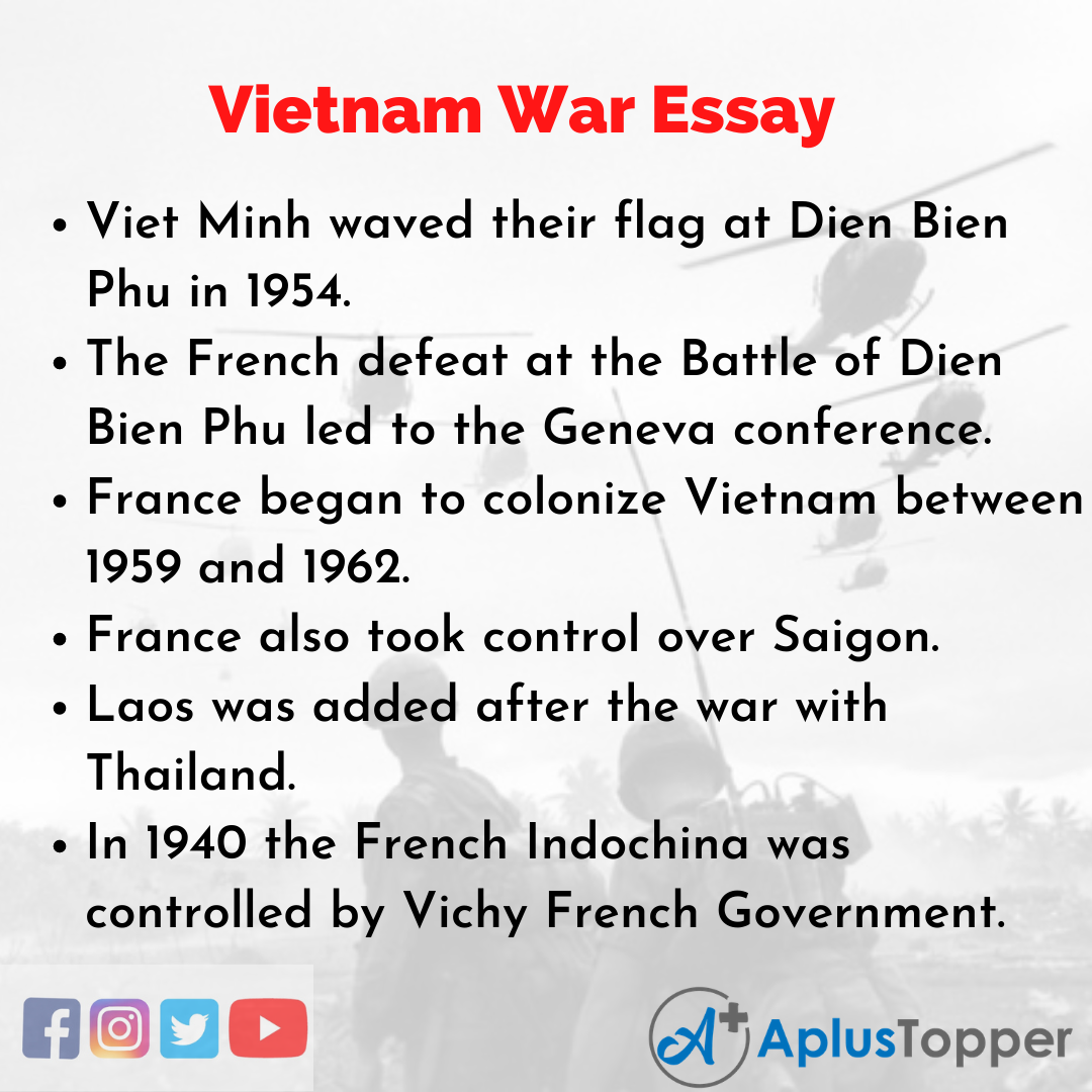 Essay about Vietnam War