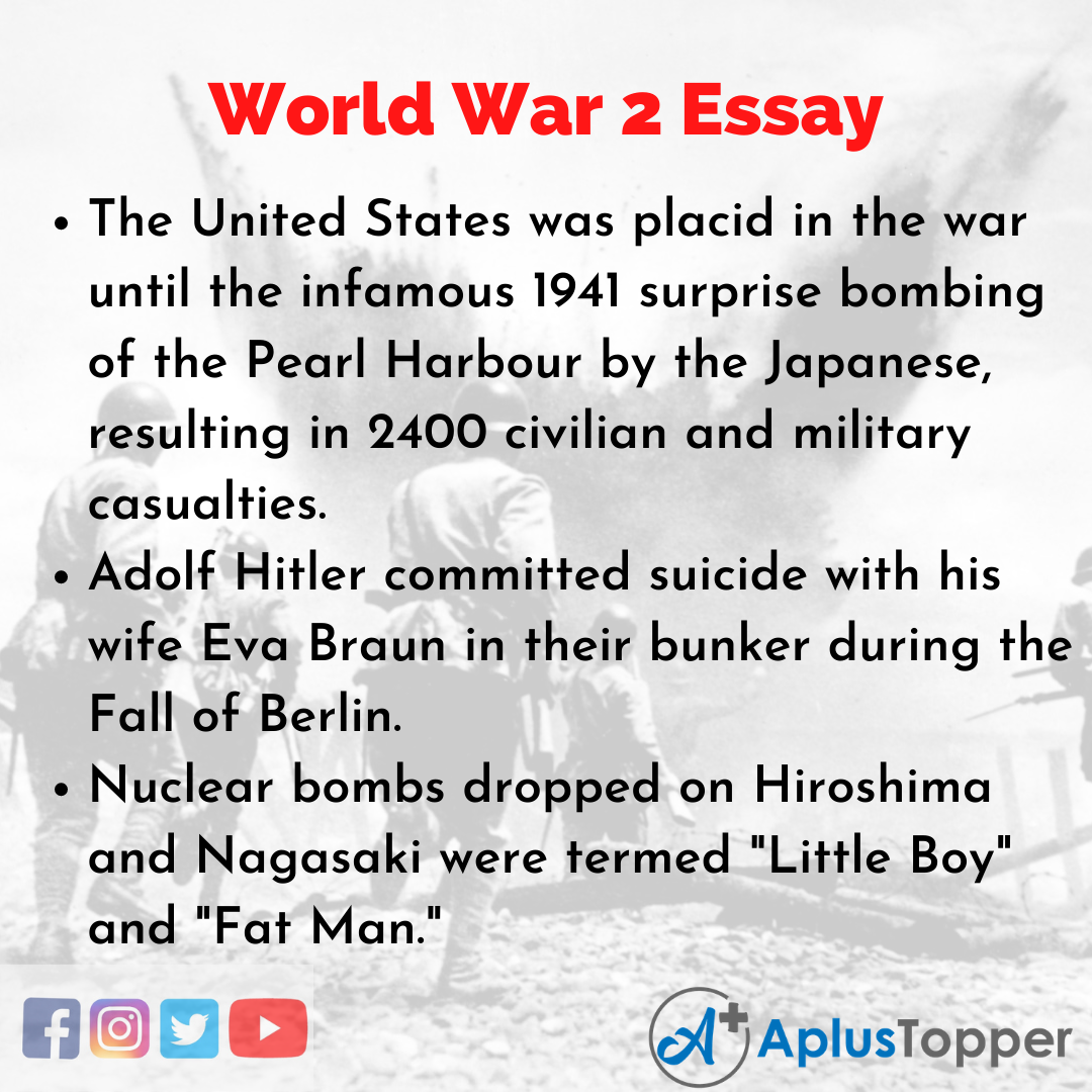 Essay about World War 2