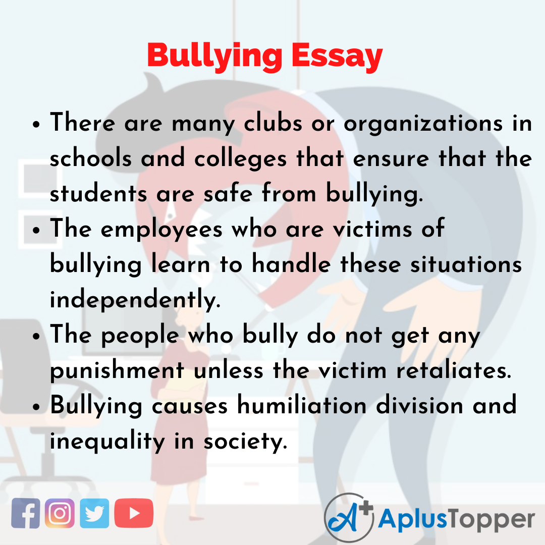 Essay on Bullying