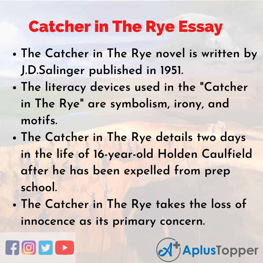 Essay on Catcher in The Rye