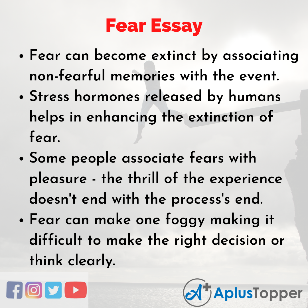 Essay on Fear