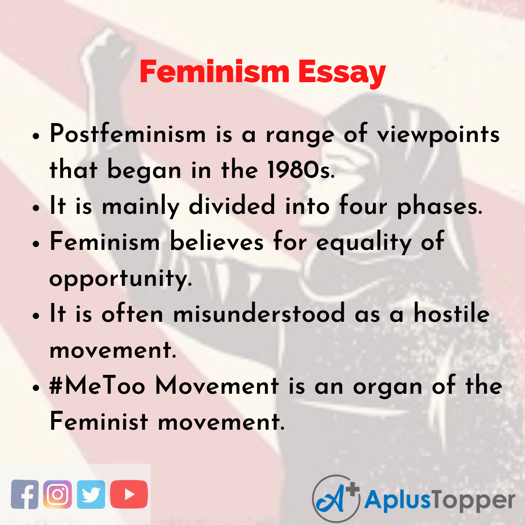 Essay on Feminism