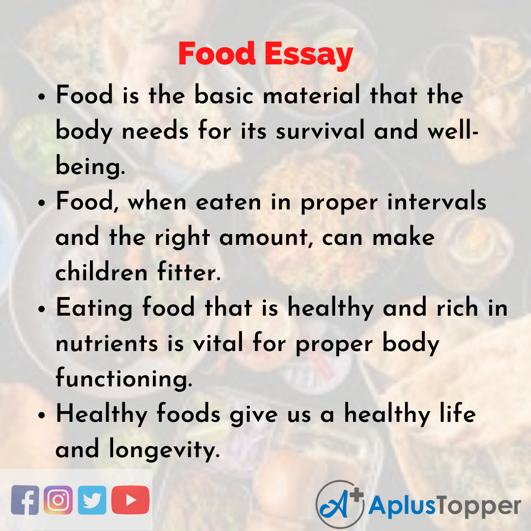 Essay on Food