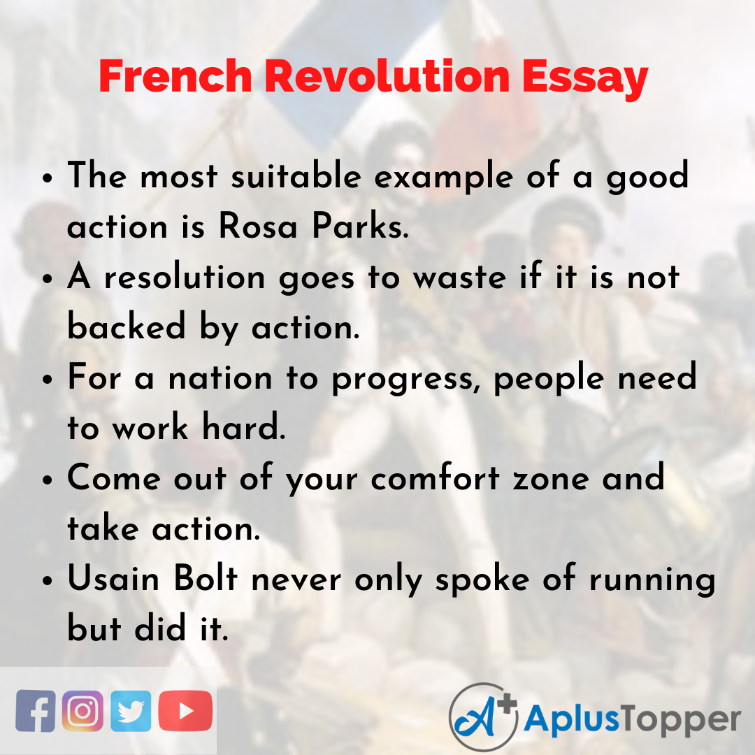 Essay on French Revolution