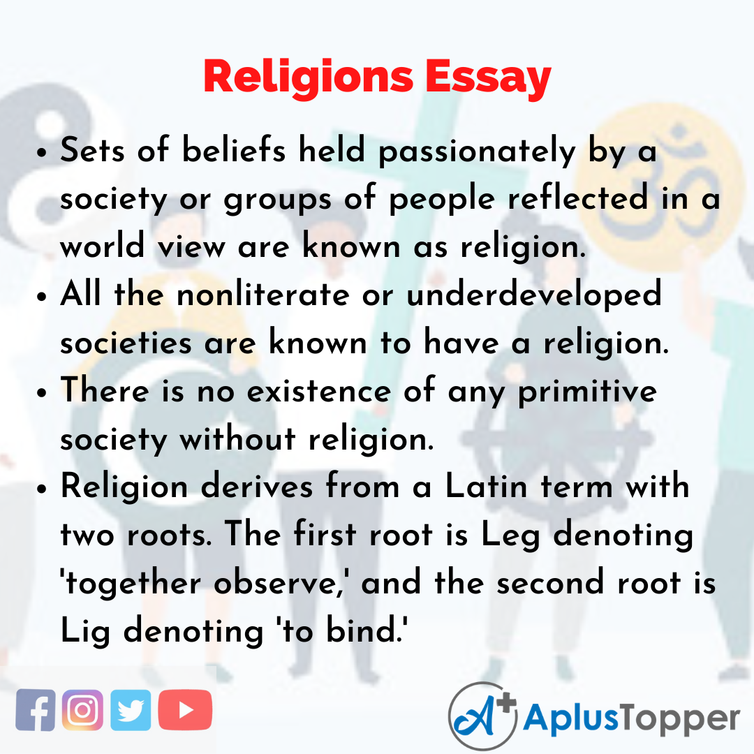 Essay on Religions