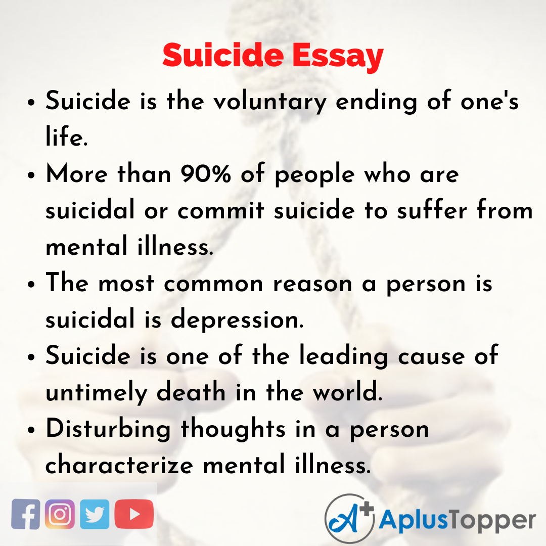 Essay on Suicide