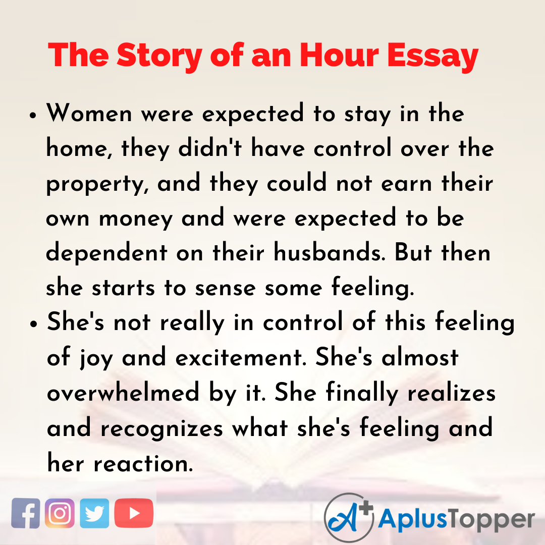 Essay on The Story of an Hour