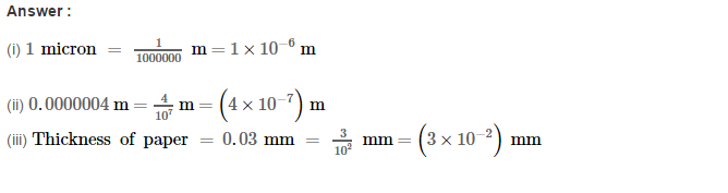 Exponents RS Aggarwal Class 8 Maths Solutions Exercise 2B 6.1