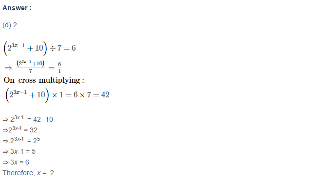 Exponents RS Aggarwal Class 8 Maths Solutions Exercise 2C 10.1