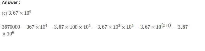 Exponents RS Aggarwal Class 8 Maths Solutions Exercise 2C 15.1
