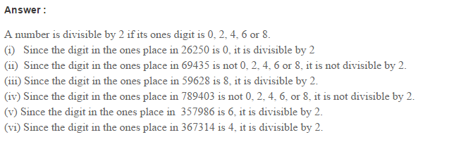 Factors and Multiples RS Aggarwal Class 6 Maths Solutions Ex 2B 1.1
