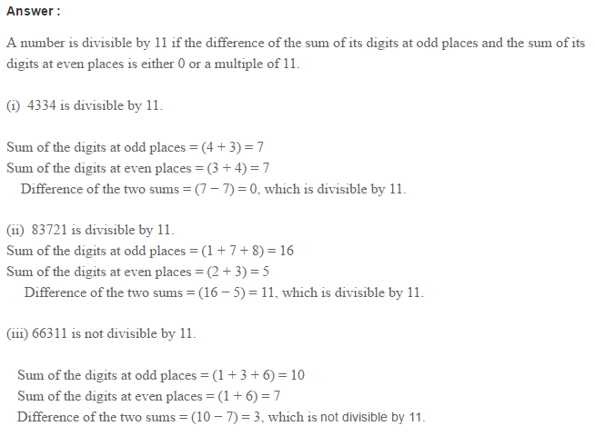 Factors and Multiples RS Aggarwal Class 6 Maths Solutions Ex 2B 10.1