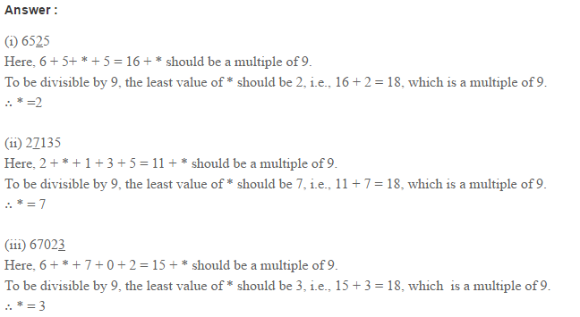 Factors and Multiples RS Aggarwal Class 6 Maths Solutions Ex 2B 12.1