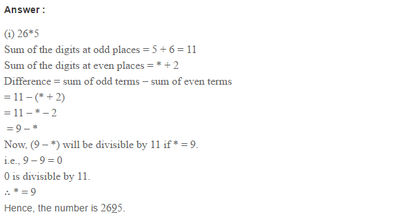 Factors and Multiples RS Aggarwal Class 6 Maths Solutions Ex 2B 13.1