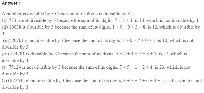 Factors and Multiples RS Aggarwal Class 6 Maths Solutions Ex 2B 2.1