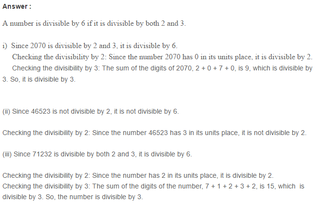 Factors and Multiples RS Aggarwal Class 6 Maths Solutions Ex 2B 5.1