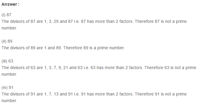 Factors and Multiples RS Aggarwal Class 6 Maths Solutions Exercise 2A 8.1
