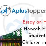 Howrah Essay