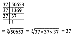 ML Aggarwal Class 8 Solutions for ICSE Maths Model Question Paper 1 Q6.1