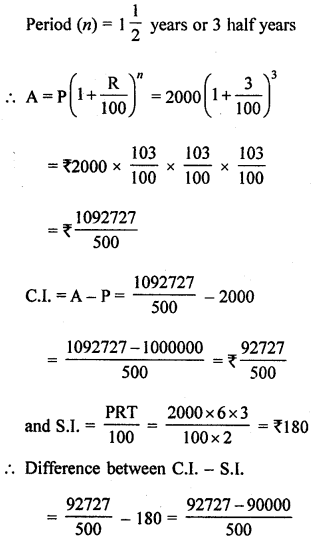 ML Aggarwal Class 8 Solutions for ICSE Maths Model Question Paper 3 Q21.1