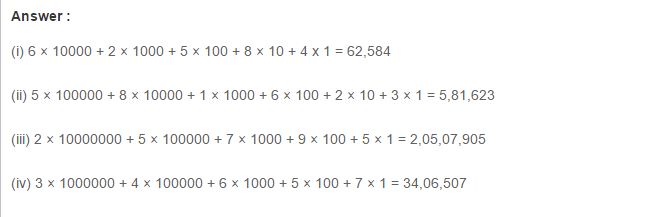 Number System RS Aggarwal Class 6 Maths Solutions Exercise 1A 4.1