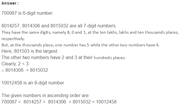 Number System RS Aggarwal Class 6 Maths Solutions Exercise 1B 13.1