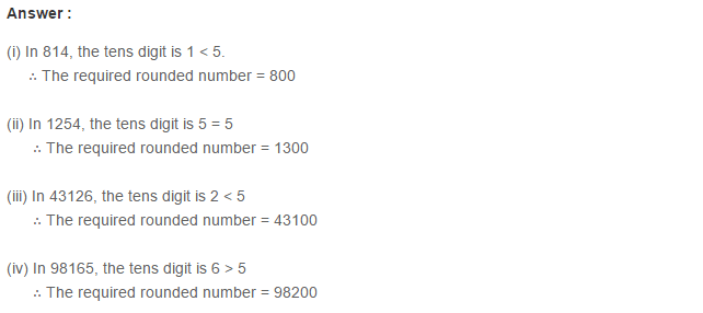 Number System RS Aggarwal Class 6 Maths Solutions Exercise 1D 2.1