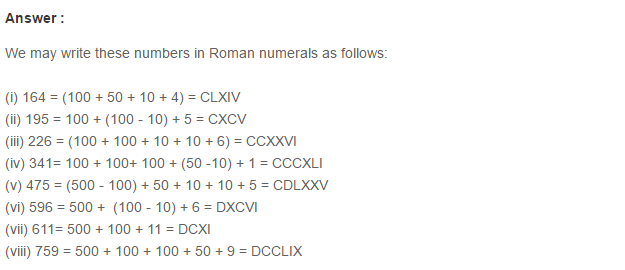 Number System RS Aggarwal Class 6 Maths Solutions Exercise 1G 2.1