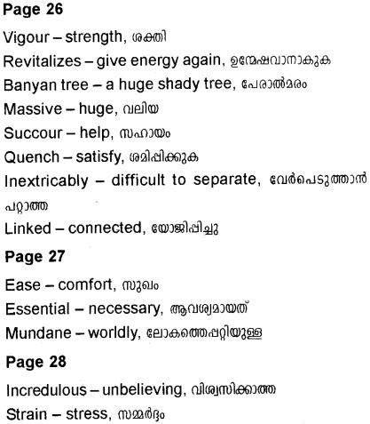 Plus Two English Textbook Answers Unit 1 Chapter 4 Horegallu (Anecdote) 7