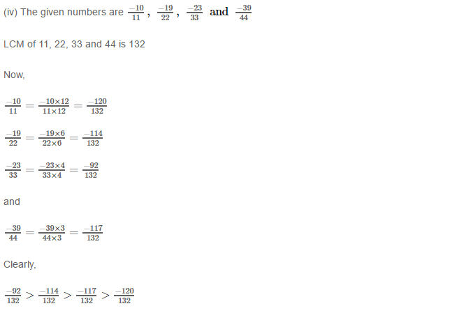 Rational Numbers RS Aggarwal Class 8 Solutions 11.5