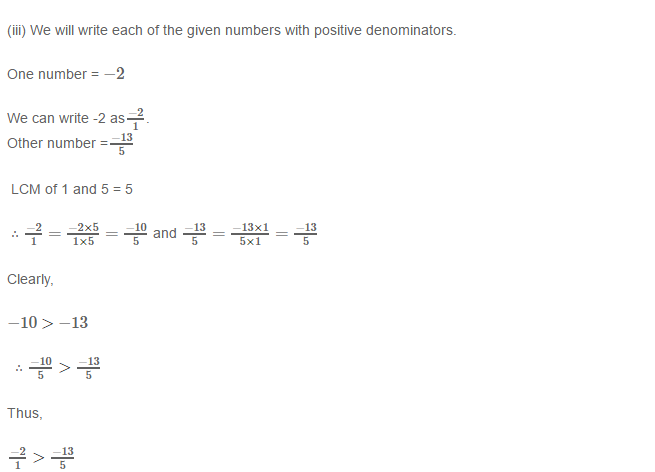 Rational Numbers RS Aggarwal Class 8 Solutions 9.2