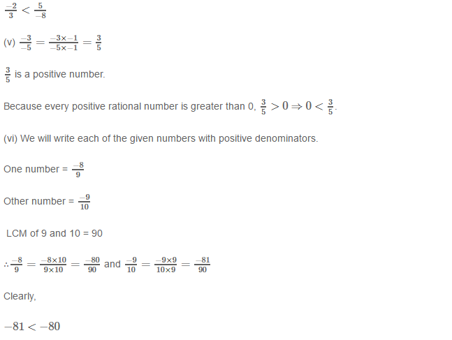Rational Numbers RS Aggarwal Class 8 Solutions 9.4