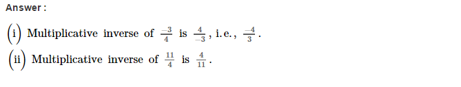Rational Numbers RS Aggarwal Class 8 Solutions CCE Test Paper 5.1
