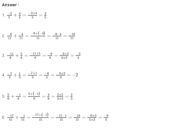 Rational Numbers RS Aggarwal Class 8 Solutions Ex 1C 1.1