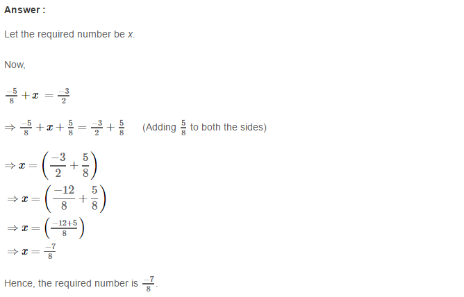 Rational Numbers RS Aggarwal Class 8 Solutions Ex 1C 11.1