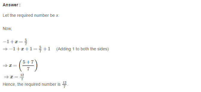 Rational Numbers RS Aggarwal Class 8 Solutions Ex 1C 12.1