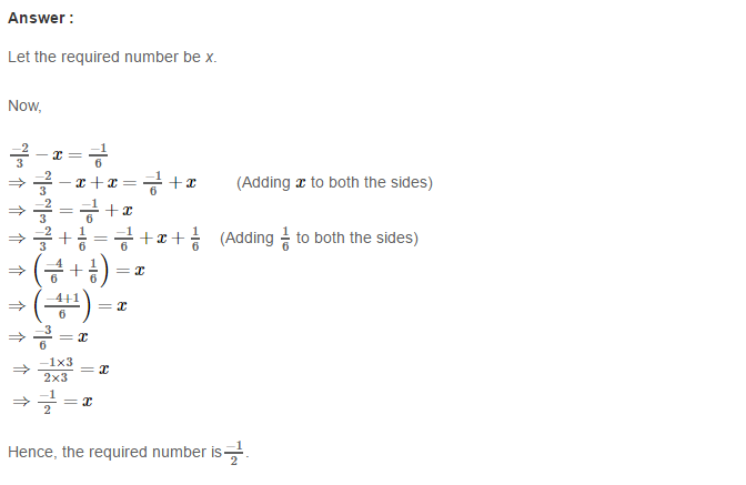Rational Numbers RS Aggarwal Class 8 Solutions Ex 1C 13.1