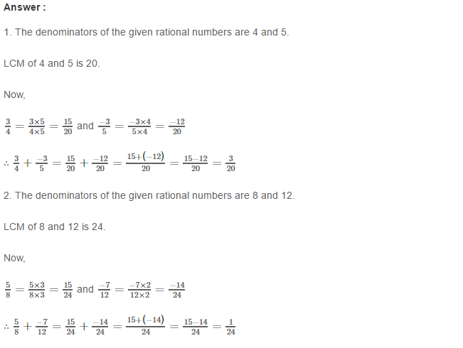Rational Numbers RS Aggarwal Class 8 Solutions Ex 1C 2.1