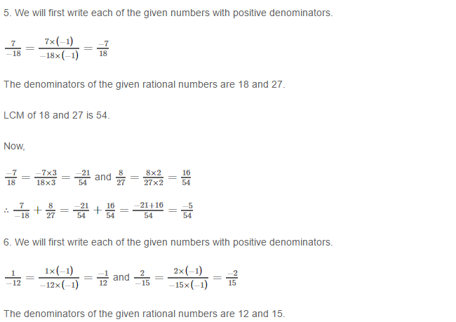 Rational Numbers RS Aggarwal Class 8 Solutions Ex 1C 2.3