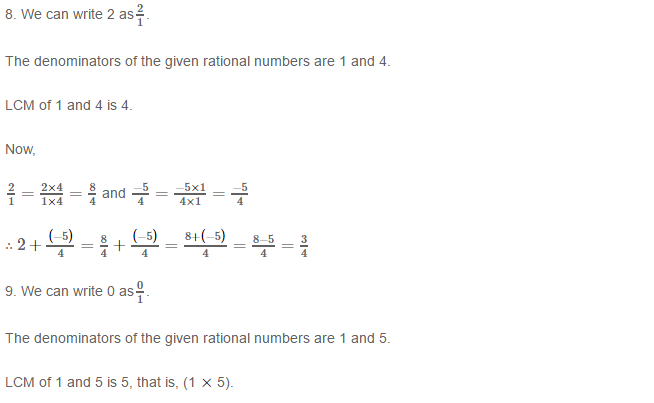 Rational Numbers RS Aggarwal Class 8 Solutions Ex 1C 2.5