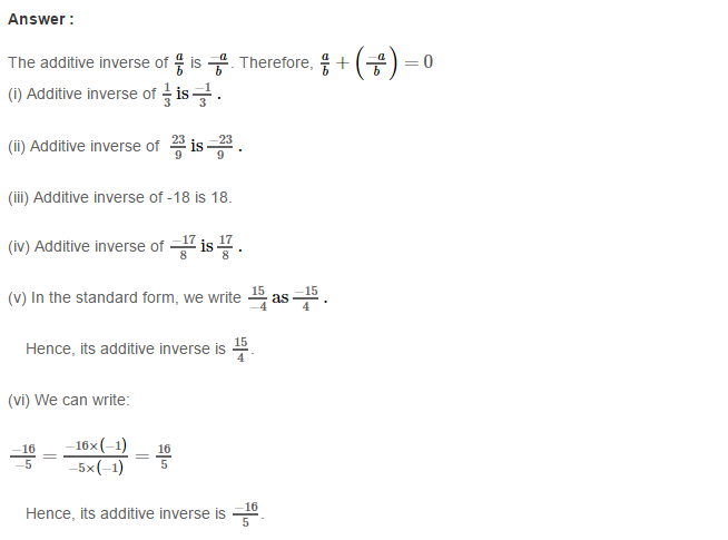Rational Numbers RS Aggarwal Class 8 Solutions Ex 1C 6.1