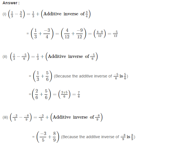 Rational Numbers RS Aggarwal Class 8 Solutions Ex 1C 7.1